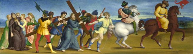 Rafael: Cesta na Kalvárii (cca 1504/5)