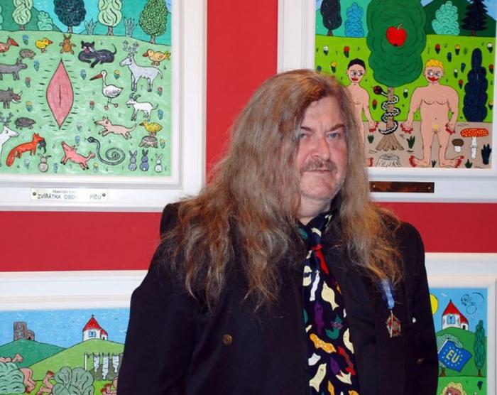 Zvířátka na Ringo Čechově nejslavnějším obraze obdivují pí*u. On sám v reálném životě obdivuje Miloše Zemana.