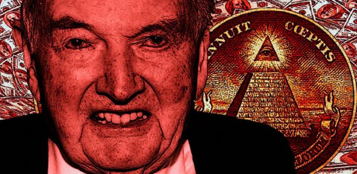 Podle konspiračních teoretiků měl být Rockefeller vším možným od iluminátského velmistra po ještěřího člověka z pekel.