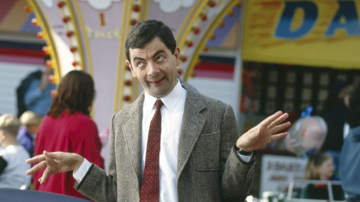 Atkinsona známe hlavně jako přitroublého pana Beana. V civilu mu ale zdravý rozum nechybí.