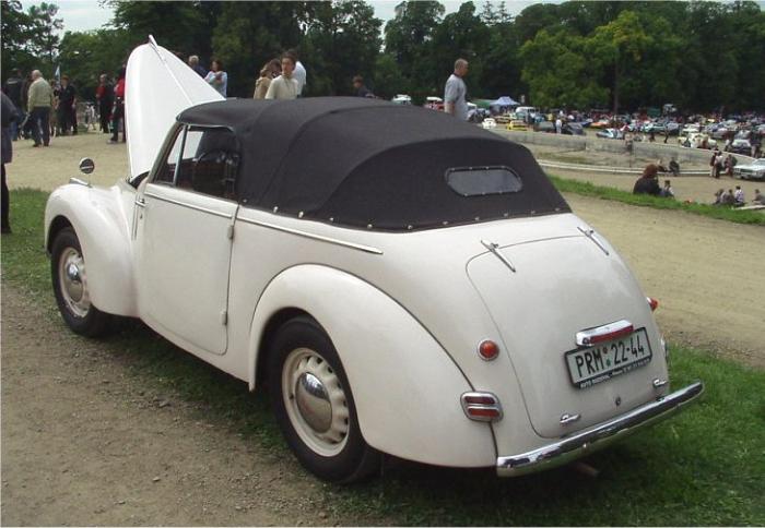 Škoda cabriolet 1101 alias Tudor