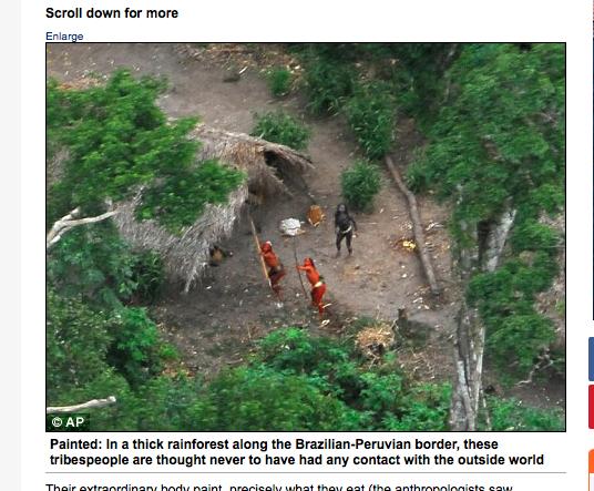 """Podle agentury AP to v roce 2008 byli brazilští """"červení"""" indiáni"""