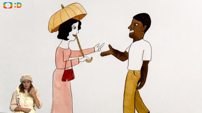 Ošklivá inferiorní bílá žena potkává krásného superiorního černocha