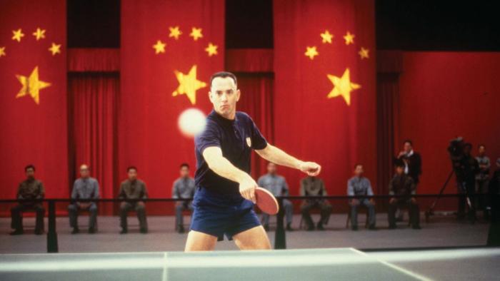 Ping pong je sport, v němž vynikají jen Číňani a autista Forrest Gump.