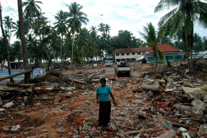Ničivá tsunami zasáhla ostrov v roce 2004.