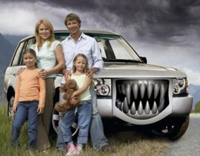 Koupili jste si velké rodinné auto? Styďte se!