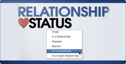 Honem správně vybrat status, aby všichni viděli, že jste ve vztahu