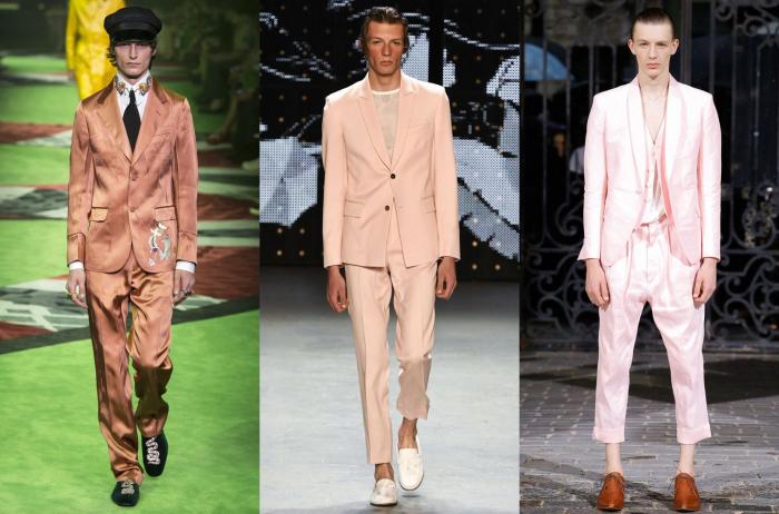 Zleva doprava: Gucci, Topman Design, Haider Ackerman