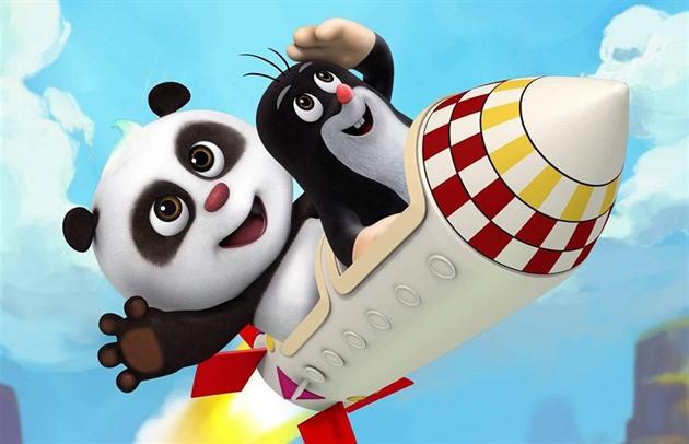 Panda a krteček, pochopitelně hlavní z nových pořadů na TV Nova pod čísnkým palcem.