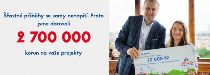 Během 2. ročníku projektu se rozdalo 2,7 milionu korun. Většina z toho šla na pomoc dětem.