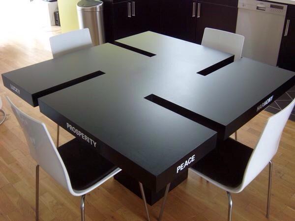 Původní fotka původního stolu