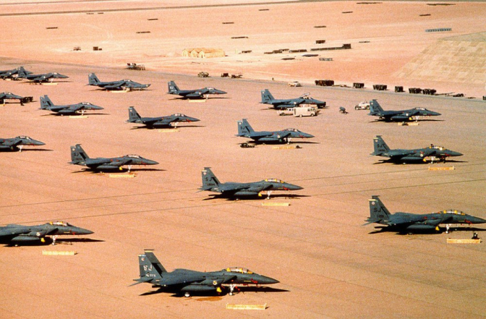 Spojenci konflikt rychle vyhráli i díky totální letecké převaze.