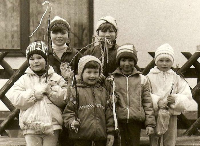 Velikonoce a koledníci v roce 1987