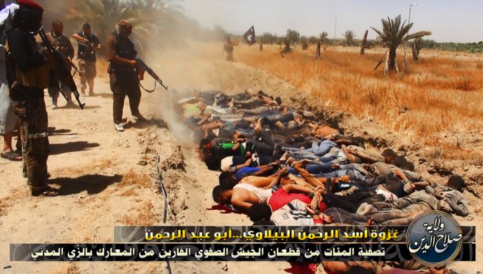 """Hromadné střílení zajatců islamisty je děsivé, ale pořád je to """"humánnější"""" než husitské upalování"""