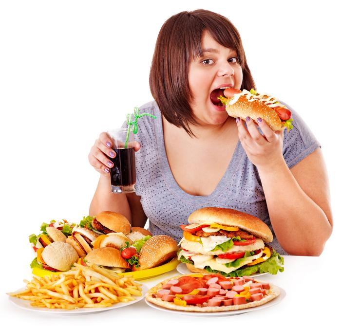 Když se pořádně nadlábnete, sice nepřijde zlaté prasátko, ale zato přijde obezita, cukrovka a infarkt