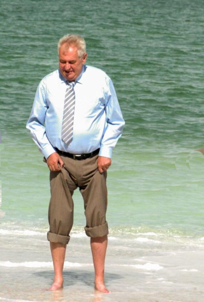 Dámy a pánové: Miloš Zeman