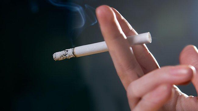 Základní úchop cigarety
