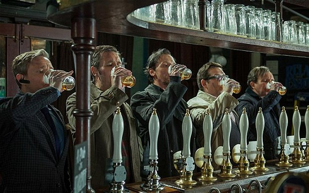 Muži se umí opít i bez svátku