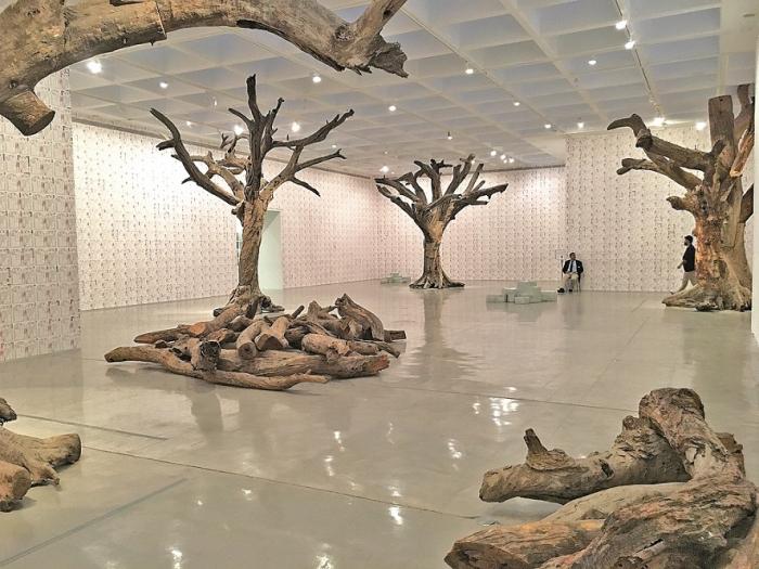 Grandiózní výstava čínského umělce Aj Wej-weje v Izraelském muzeu v Jeruzalémě.