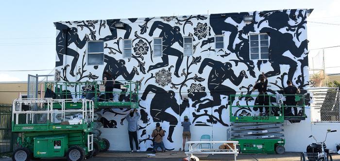 Muralisté v akci