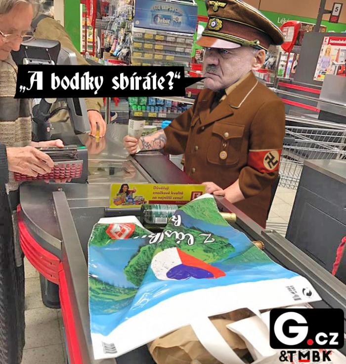 Hitler by z prodavačky měl určitě radost a za odměnu by ji poslal do plynové komory až jako poslední.
