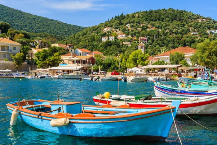 Ithaka – rozeklané rodiště Odyssea