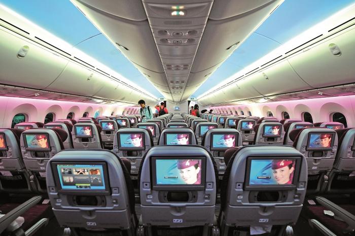 Čím novější letadlo, tím novější palubní systémy. I podle toho se občas cestující rozhodují.