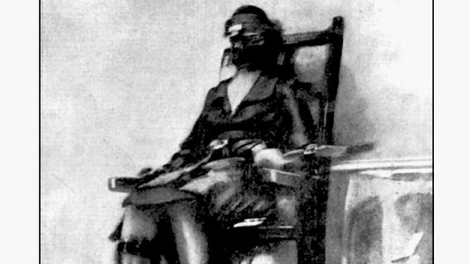 První fotka popravy na elektrickém křesle: jak kdysi fungovalbulvár