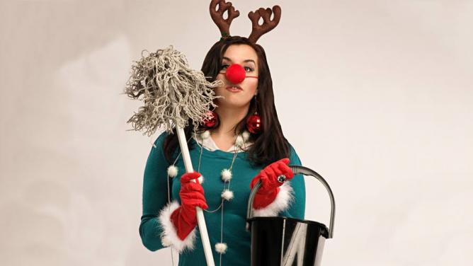 10důvodů, proč se totálně vykašlat na (vánoční) úklid