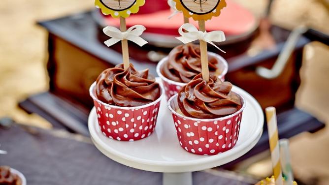 Výtečný recept na neděli! Čokoládové cupcake