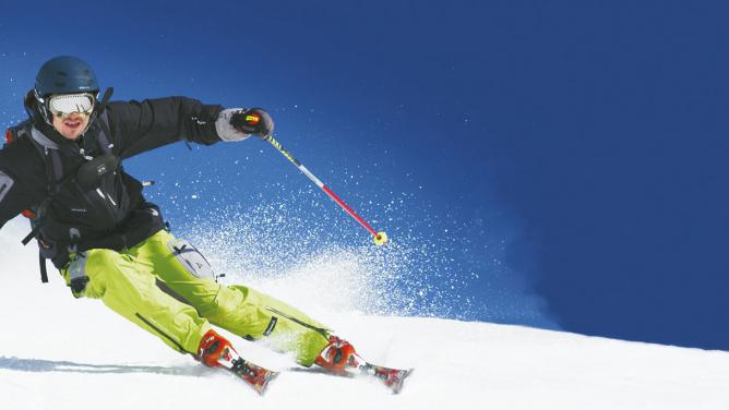 Zima je tu, jede se na lyže!