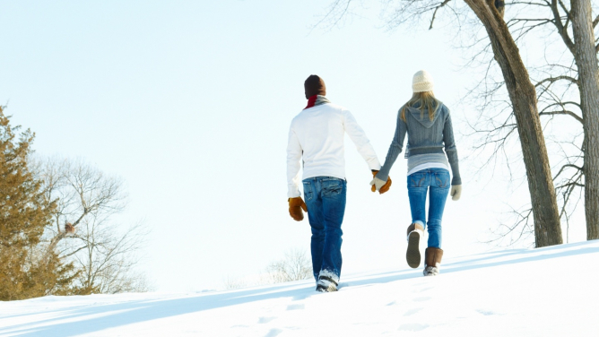 6tipů, jak ohromit ženu, ikdyž je venku zima a mráz