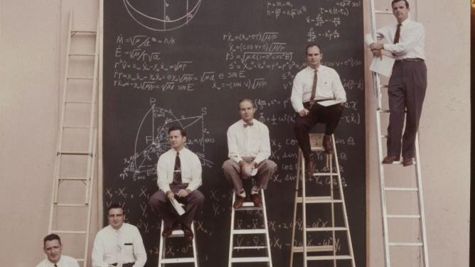 Vědci zNASA včasech před Powerpointem