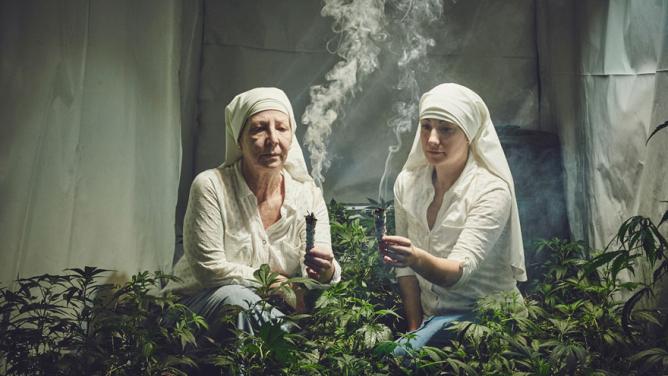 Jeptišky, které zachraňují svět, vyrábí léky a kouří marihuanu