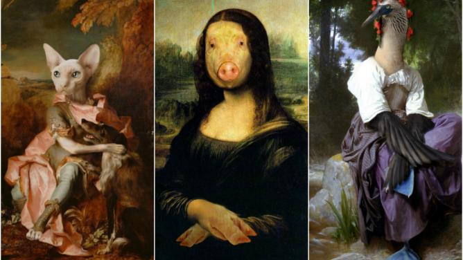 15známých obrazů, ve kterých je cosi nápadně jinak