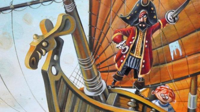 7důvodů, proč si koupit knížku Lapuťák a kapitán Adorabl
