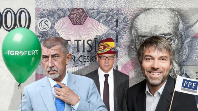 6českých dolarových miliardářů: Přispíváte jim na jejich bohatství ivy?