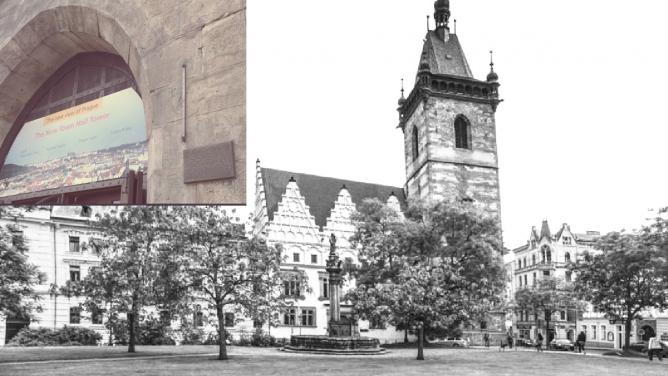 Uhodnete, kčemu sloužila záhadná železná tyčka na Novoměstské radnici? Váže se kní stará pražská pověst!