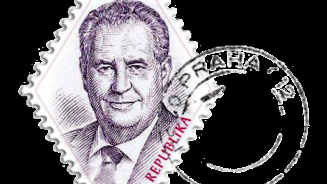 Miloš Zeman nám bude lhát nejen na Hradě, ale ina známkách