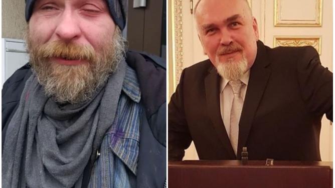 Drámo na sjezdu ČSSD: bezdomovec chtěl po novináři peníze, místo toho dostal pepřákem doočí