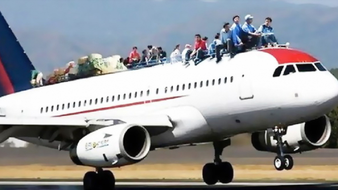Podpásový způsob, kterým na nás všech aerolinky šetří