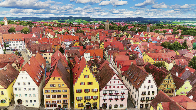 13malebných evropských měst, vnichž středověk nikdy neskončil