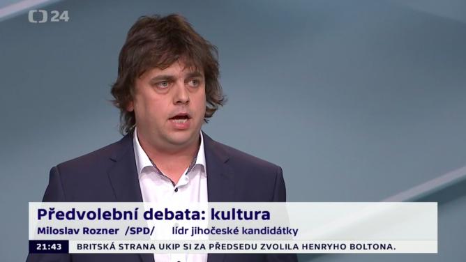 Sny internetových vtipálků se staly realitou: manažer kapely Argema Miloslav Rozner (SPD) se stal poslancem