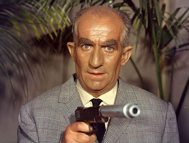 """Fantomas (1964) Komisař Juve:""""Dostanu tě, Fantomasi"""""""