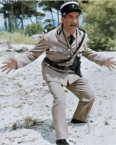 Legendární Četník ze Saint Tropez (1964) - Ludovic Cruchot: Sem se mi dívejte!