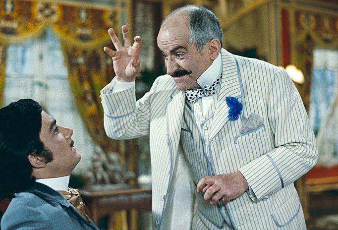 Hibernatus (1969) Louis de Funès jako bohatý obchodník a zastánce moderní vědy, který si rozmražením dědečka své manželky zadělá na pořádný problém.