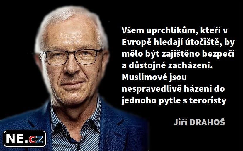 Zemanova propaganda zkouší udělat z Drahoše milovníka uprchlíků a Kalouska.