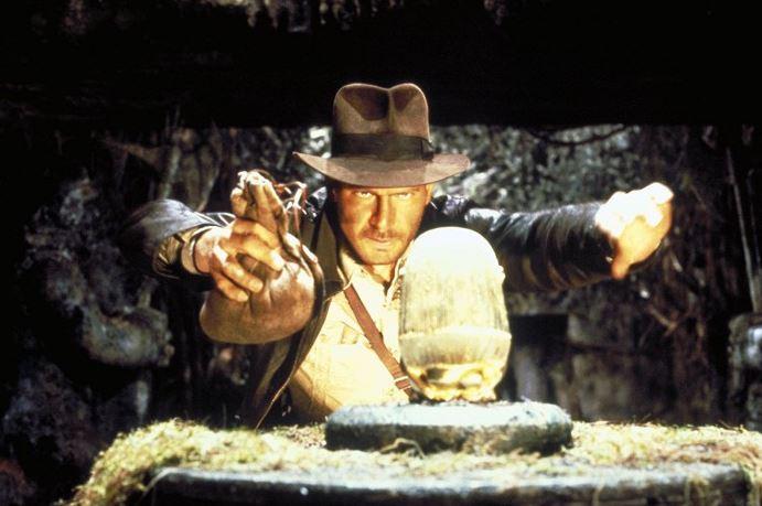 A to už poprvé jako Indiana Jones! Dobyvatelé ztracené archy (1981)