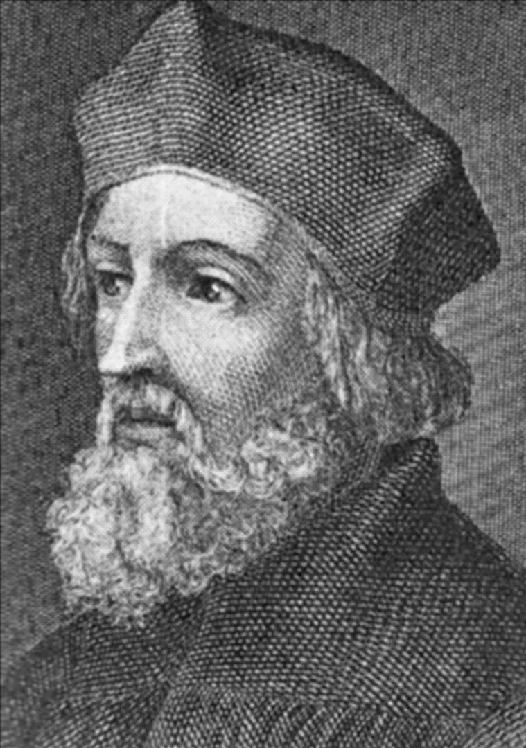 Jan Hus žil mezi lety 1370 - 1415