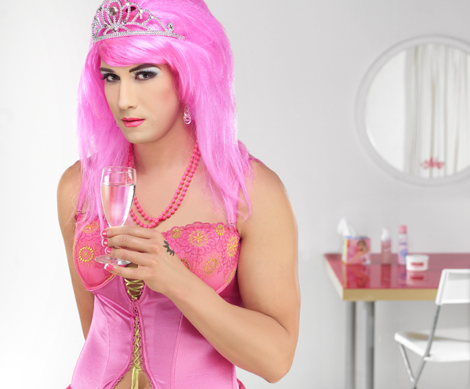 Kolem té čtvrté ranní je i ten transvestita Radim bernej